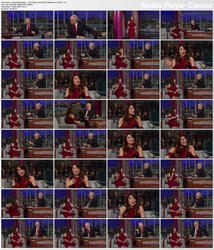 Jennifer Esposito ~ Late Show with David Letterman 10/26/11 (HDTV)