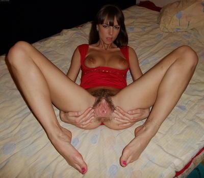 голая киска жены фото