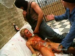 Whore Kidnapped & Bloody Abuse