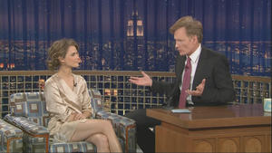 Keri Russell - Late Night with Conan O'Brien (2008-12-08)