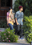 th 55764 Selena27 123 372lo Selena Gomez   at a restaurant in Hollywood 01/10/2012