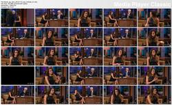 Lea Michele @ The Tonight Show w/Jay Leno 2012-11-12