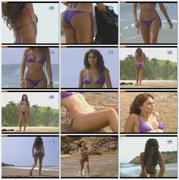 Ana Serradilla Hot Ass in purple bikini